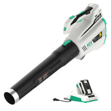 LitheLi 40V Cordless Brushless Leaf Blower w/ 2.5AH Battery & Charger 480CFM