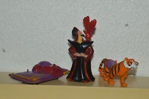 1992 Burger King Disney ALADDIN PVC Plastic Figurines Partials Very Good Conditi