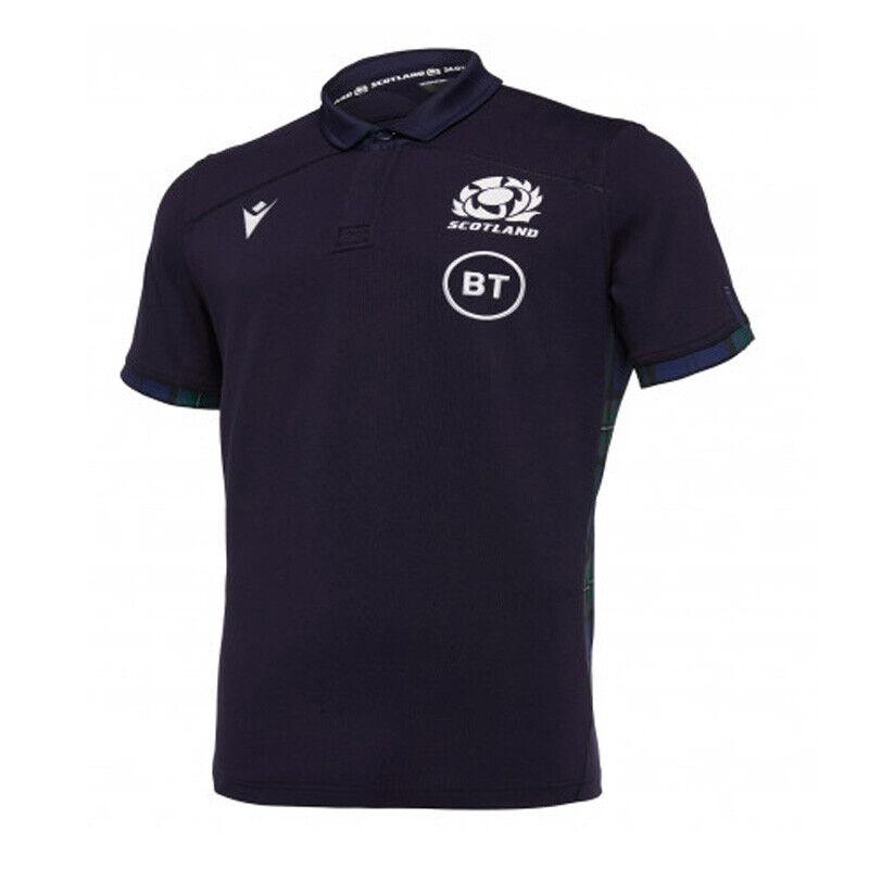 Scotland Home SS Cotton Shirt 2019 20