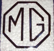 New MG Trunk Badge Emblem for MGA MG Midget MGB 1955-1969 Chromed Metal