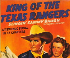 KING OF THE TEXAS RANGERS, 12 CHAPTER SERIAL, 1941