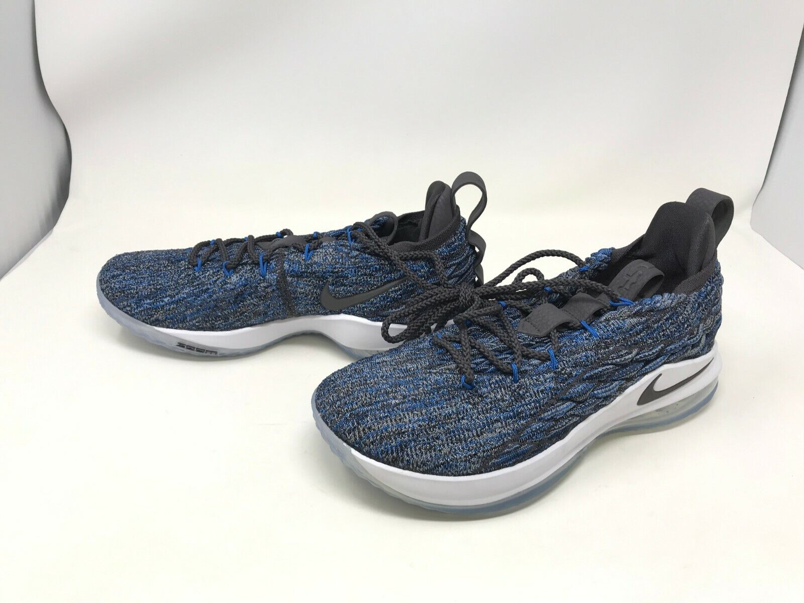 half off 10b40 1a4d0 Mens Nike (AO1755-400) Lebron 15 Low basketball shoes (406C)