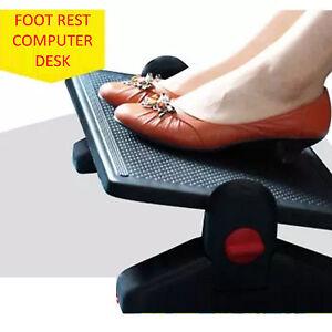 Foot Rest Computer Office Desk Footrest