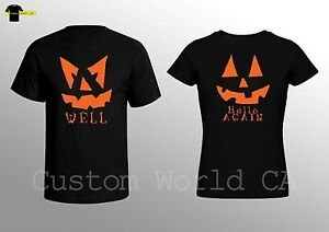 ed286e0ee9 Couple Shirts - His and Hers - Shirts for Halloween - Horror Tees ...