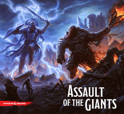 NEW Dungeons and Dragons  Assault of the Giants Board Game Wizkids