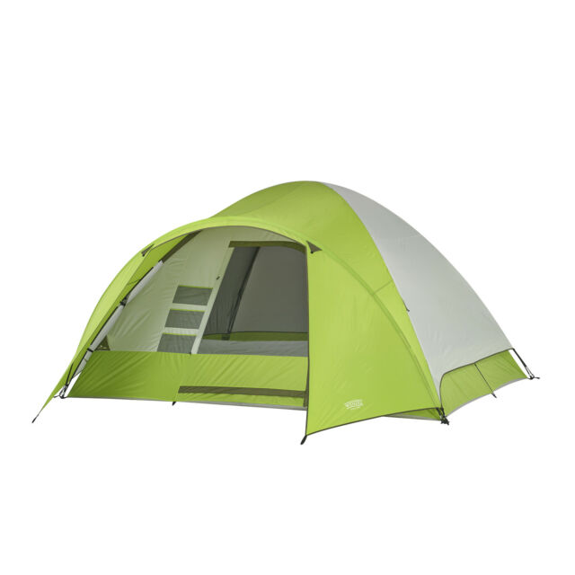 3314440d2a3 Wenzel 8 Person Portico 10 x 12 Ft. Outdoor Family Camping Tent