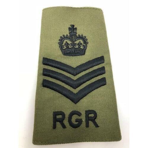 S//Sgt Olive RGR Rank Slide