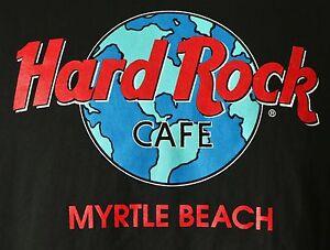 Hard-Rock-Cafe-Myrtle-Beach-Vintage-T-Shirt-Large-Black-Made-in-USA