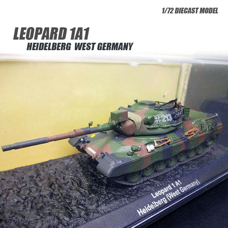 Leopard 1A1 Heidelberg West Germany 1 72 DIECAST MODEL FINISHED TANK IXO