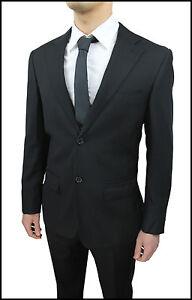 Bright Suit Men's Slim Fit Sartoriale Black Set Dress New Size 46 48 50 52 54 Clients First Men's Clothing