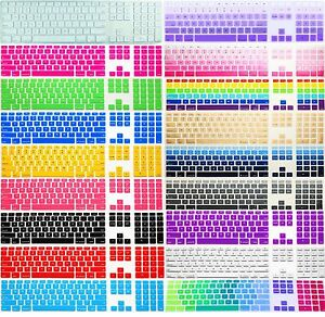 for us imac g6 keypad mb110ll a1243 desktop wired keyboard skin cover protector ebay. Black Bedroom Furniture Sets. Home Design Ideas