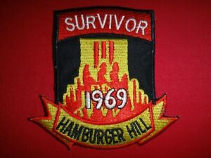 SURVIVOR-Battle-Of-HAMBURGER-HILL-Year-1969-Vietnam-War-Patch