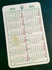 1975 Vintage ROLEX Calendar Daytona 1680 6265 5500 1675 6263 1665 5514 5513 OEM