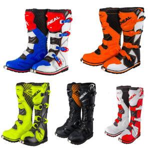 dab672290a171 La imagen se está cargando Nuevas-Botas-Oneal-Motocross-Enduro-Trail-8-9-
