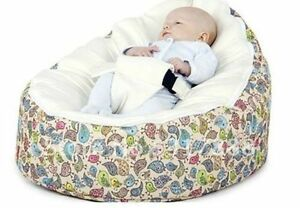Wondrous Details About Comfortable Baby Sleeping Bag Infant Bean Bag Child Chair Without Fillings Ivory Machost Co Dining Chair Design Ideas Machostcouk