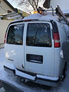 09 Chevy Work Van