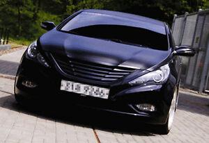 Image Is Loading Radiator Hood Grille Matt Black For Hyundai I45