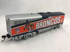 Denver Broncos engine Train NFL Hawthorne village  Bachmann