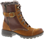 Earth-Spirit-Winter-Boots-Ladies-Mid-Calf-Leather-Faux-Fur-Buckle-Lace-Zip-Shoes thumbnail 4
