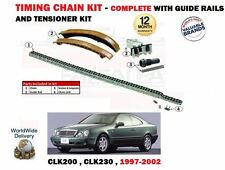 Per Mercedes CLK200 CLK230 + Kompressor 1997-2002 TIMING CHAIN KIT tensionatore