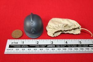 DID-DRAGON-IN-DREAMS-1-6TH-SCALE-WW1-FRENCH-INFANTRY-HELMET-amp-COVER-PASCAL