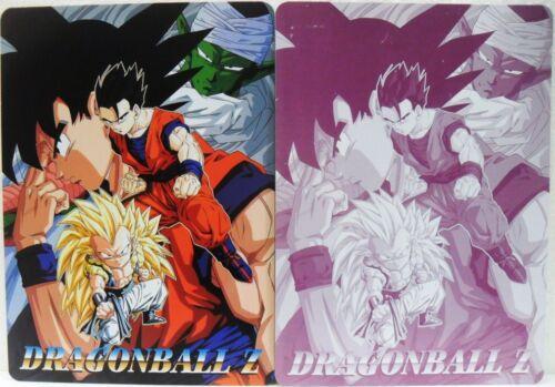 Dragon Ball Z GOKU GOHAN FUSION PICCOLO mouse//poster plastica flessibile cm18x25
