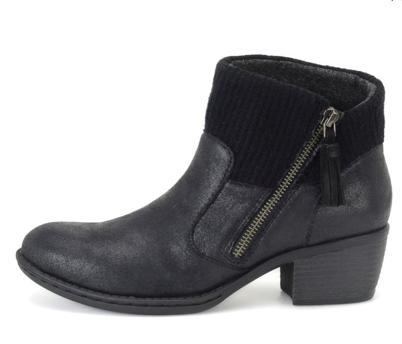 NEW BORN B.O.C BENDELL 10 BLACK ANKLE Stiefel Damenschuhe 10 BENDELL Z26704 ZIP SIDE BOOTIES 6b07b2