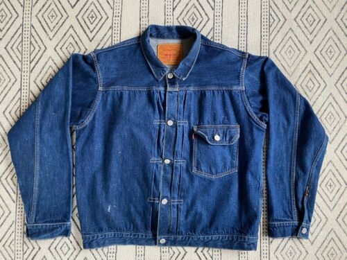 Levis LVC Type 1 506XX Denim Trucker Jacket Size L