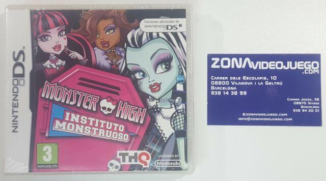 Monster High Instituto Monstruoso, Nintendo Ds, Pal-Esp