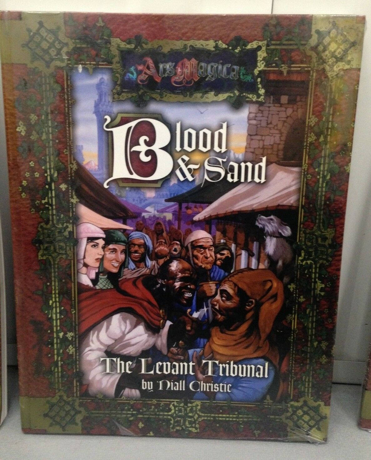 Ars Magic RPG Blood and Sand - The Levant Tribunal AG0269 Hardcover New & Sealed