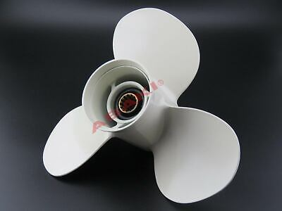 11 3//8X 12 P Aluminum Outboard Propeller  For Yamaha 25-60HP 663-45952-02-EL  .