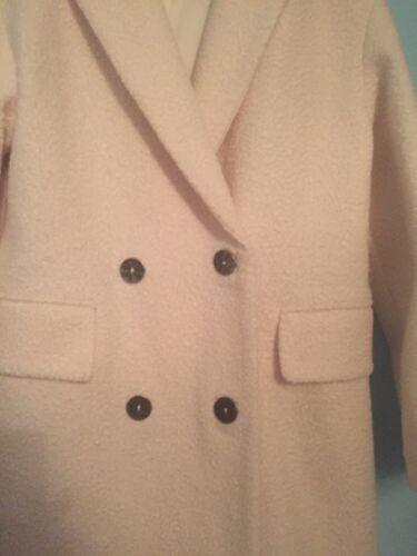 Double £ 89 En Rrp Coat Topshop 10 Naturel Uk U47awqa