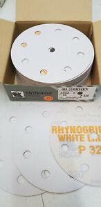 50 x white line Schleifscheiben,Profi, Exzenter, P 320 - Ø125 mm - 8+1 Loch