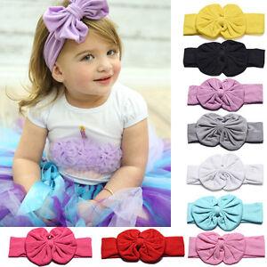 1PC-Cute-Multi-Color-Kids-Girls-Baby-Toddler-Bowknot-Headband-Hair-Band-Headwear