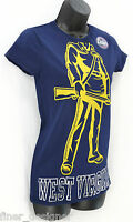 Pro Edge West Virginia University Wvu Mountaineers Ladies T- Shirt Top Sz M