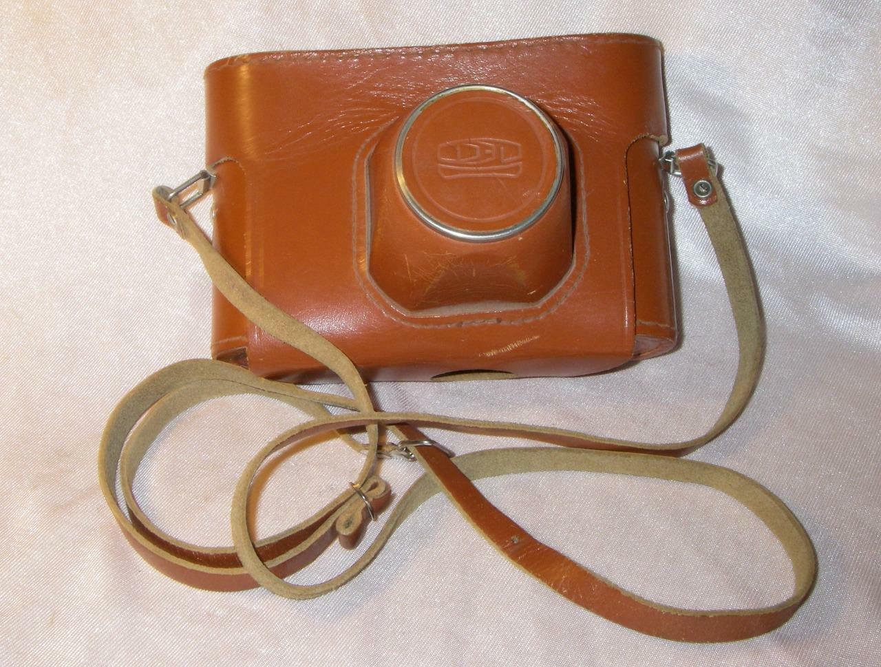 ORIGINAL LEATHER CASE for FED-5 FED-5V FED-5S camera w Industar-61L/D lens FED-3