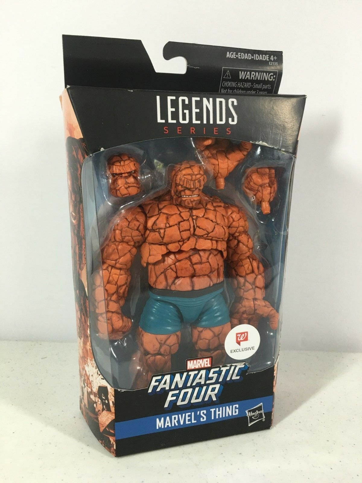 Marvel Legends The Thing Fantastic Four Walverdes Exclusive In Hand Hasbro