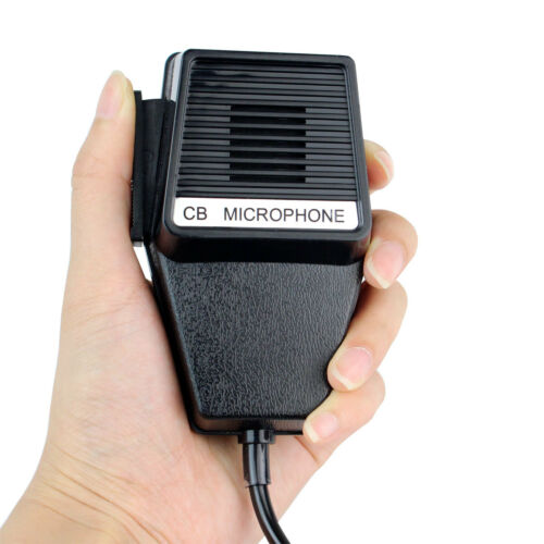 5X CM4 4 Pin CB Radio Microphone Speaker Mics For Cobra PR3100 PR3175 PR4000 NEW