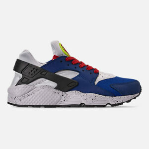 b2605bf122a New Nike Men s Air Huarache Run Premium Shoes (704830-404) Indigo ...