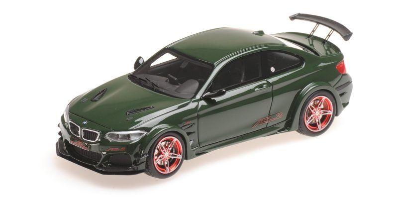 Bmw Ac Schnitzer L2 verde 2016 1:43 Model MINICHAMPS