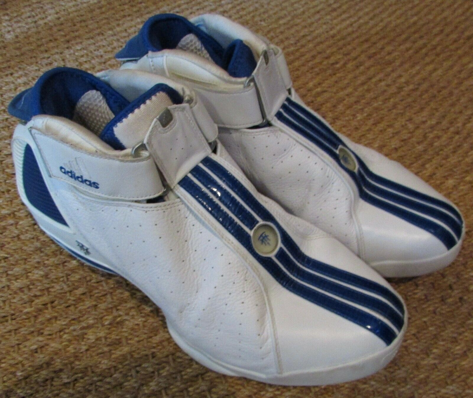 Adidas T-Mac 4.5 caballero zapatillas de baloncesto-Talla 14 tracy mcgrady 2004