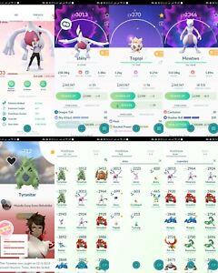 pokemon-account-Go-Level-33-8-Shiny-69-Legendary-19-IV100-RARE