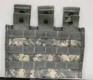 US-Military-Molle-Triple-Mag-Pouch-Universal-Camouflage-8465-01-525-0598-B