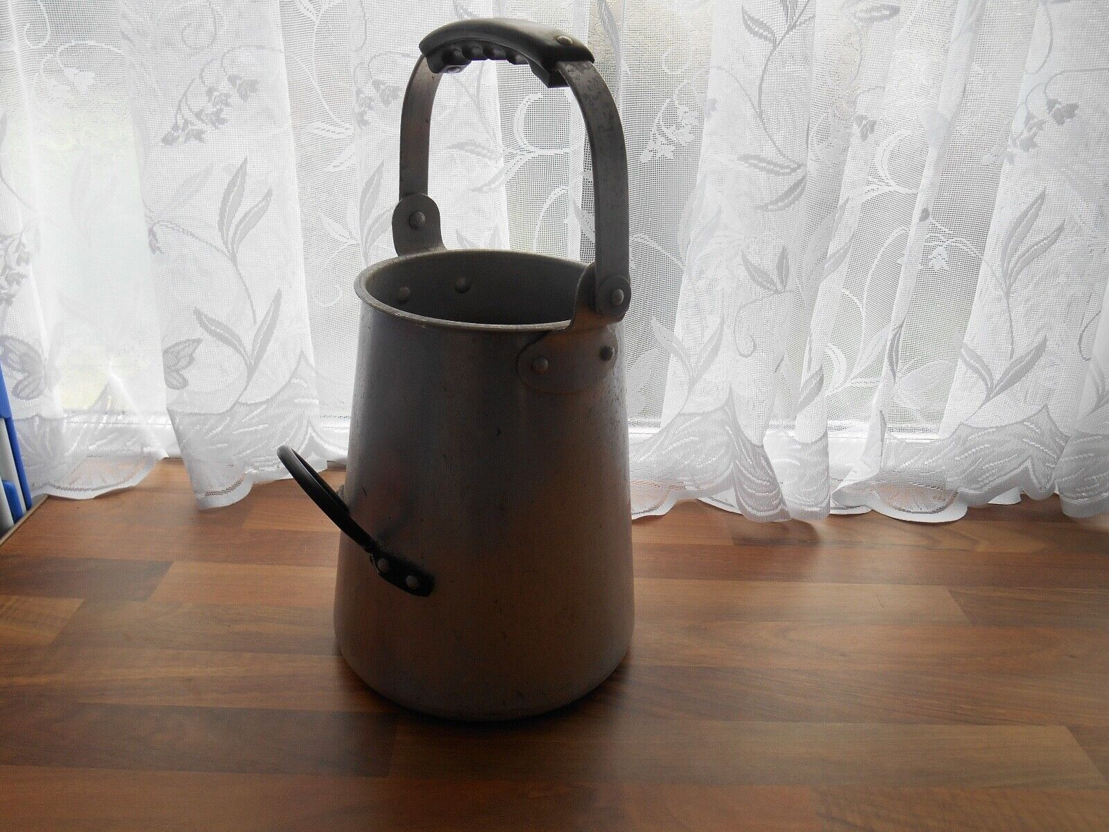 Rare Vintage 1969 ex army Alurex 1 Gallon Buckby Style Thick Aluminium Water Can