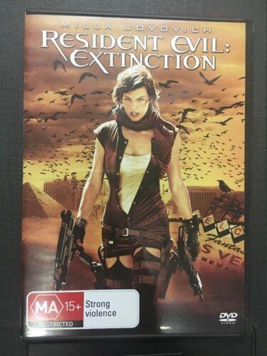 1 of 1 - Resident Evil - Extinction DVD 2008 - Milla Jovovich - Region 4