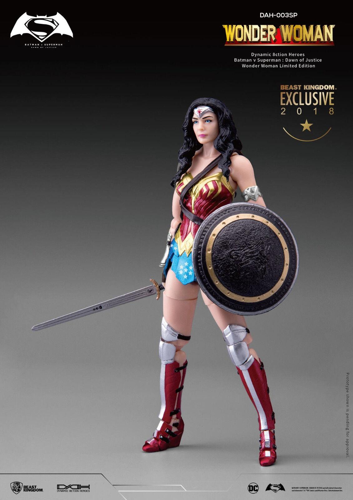 San Diego comic-con 2018 Beast Kingdom DC Wonder Woman BVS Dawn of Justice Action Figure