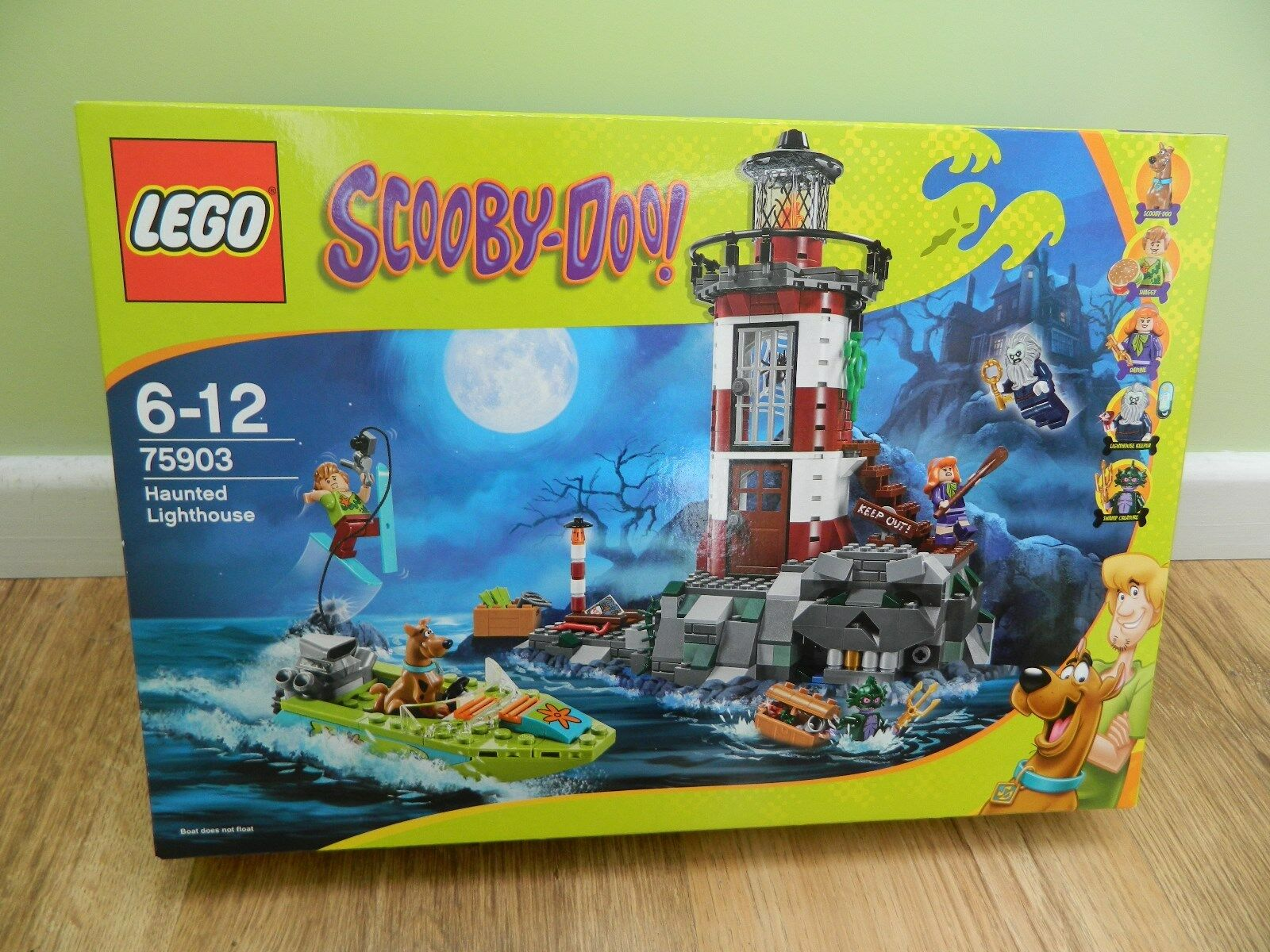 Lego Scooby Doo – 75903 Haunted Lighthouse - New Sealed – BNIB – Retired 2015