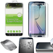 CURVED TEMPERED GLASS SCREEN PROTECTOR FOR SAMSUNG GALAXY S6 EDGE PLUS - SILVER
