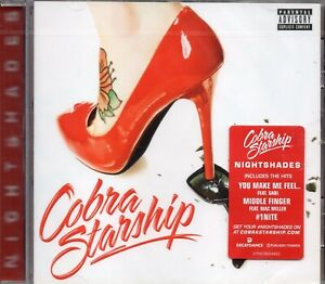 Cobra-Starship-Nightshades-2011-CD-New-amp-Sealed