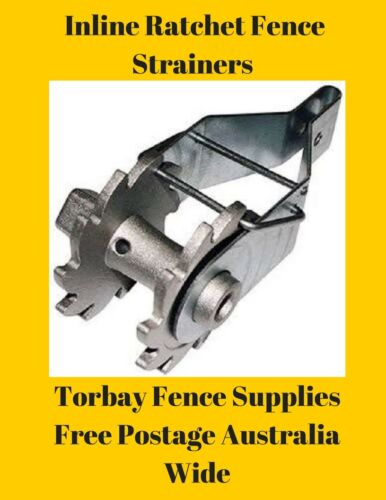 Inline Fence Strainers x 30
